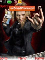 Alexi Laiho theme screenshot