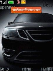 Black Saab theme screenshot