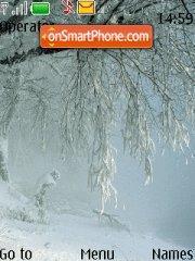 Скриншот темы Winter