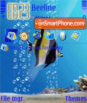 Aqua Fish Animated theme screenshot