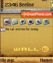 Wall-E 04 es el tema de pantalla