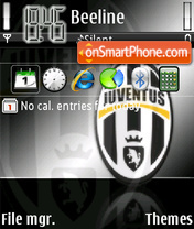 Juventus 05 theme screenshot