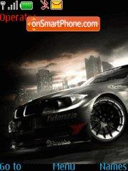 Bmw tuning theme screenshot