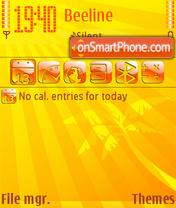Capture d'écran Hot 05 thème