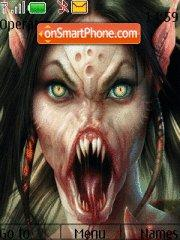 Creature theme screenshot