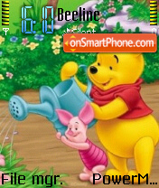 The Pooh Friends theme screenshot