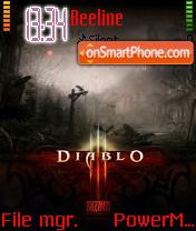 Diablo Iii 01 es el tema de pantalla