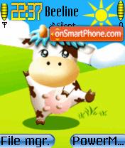 Dance Cow theme screenshot