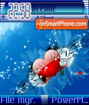 Vista Heart es el tema de pantalla