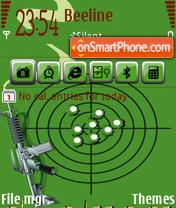Soldier theme screenshot