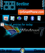 Windows 7 V2 def theme screenshot