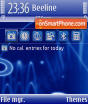 Скриншот темы Lines 01