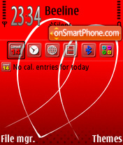 Valentine 04 theme screenshot