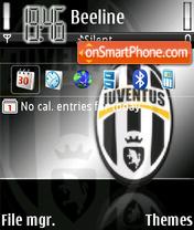 Juventus defalut es el tema de pantalla