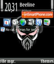 Piratskaja Stancija theme screenshot