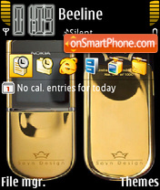 Nokia 8800sirocco Diamond theme screenshot