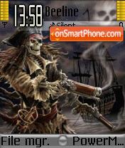 Pirate es el tema de pantalla