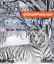 White Tiger Theme-Screenshot