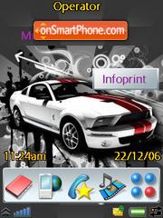 Mustang Car es el tema de pantalla