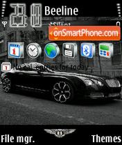 Bentley GT-S V2 es el tema de pantalla