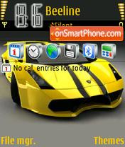 Lamborghini Gallardo V2 theme screenshot
