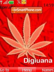 Скриншот темы Digicel/Marijuana Theme (Digiuana)
