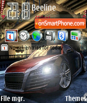 Скриншот темы Audi R8