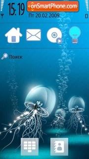 Bluejelly theme screenshot