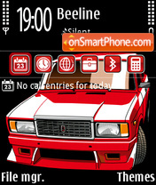 VAZ 2107 theme screenshot