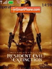 Resident Evil Extinction theme screenshot