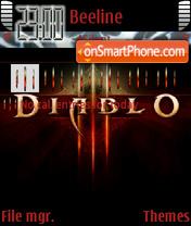 Capture d'écran Diablo 3 thème