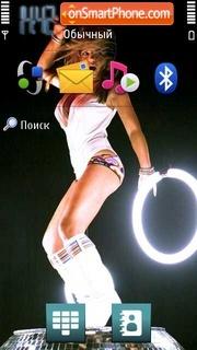 Geri Halliwell theme screenshot