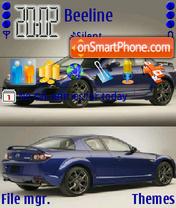 Скриншот темы Mazda Rx8 2009