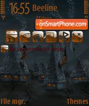 Скриншот темы Music village