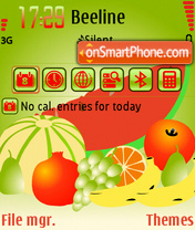 Fruits 04 theme screenshot