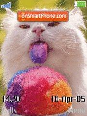 Funny cat theme screenshot
