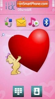 Love 26 es el tema de pantalla