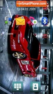 Honda Nsx 01 theme screenshot