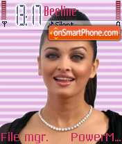 Aishwariya Rai 01 theme screenshot