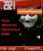 Saw 04 theme screenshot