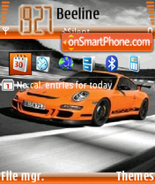 Porsche 911 Gt3 Rs theme screenshot