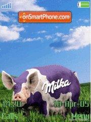 Milka theme screenshot
