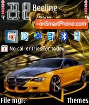 Скриншот темы BMW orange