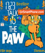 Talk to the Paw theme screenshot