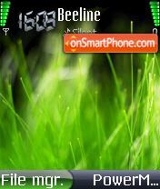 Vista Spring es el tema de pantalla
