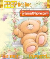 Teddybear es el tema de pantalla