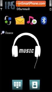 Music 5304 tema screenshot