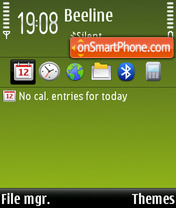 Symbian60 Mobi Remix FP1 theme screenshot
