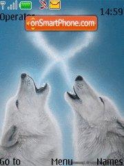 White Wolfs Theme-Screenshot