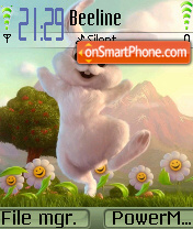 Bunny tema screenshot